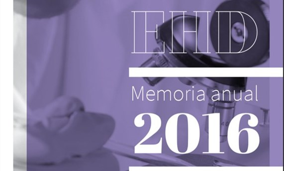 Disponible la Memoria 2016 del CIBEREHD